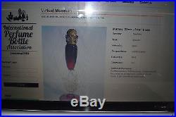VINTAGE DeVILBISS JEWELED SWAN PERFUME BOTTLEMUSEUM PIECEBEYOND RAREEXQUISITE