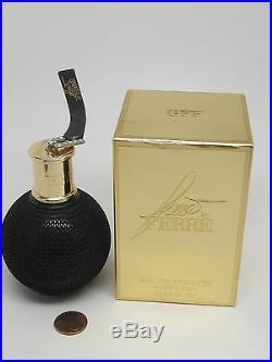 VINTAGE GIANFRANCO FERRE GFF WOMEN 1oz/30mlSpra PERFUME/EDT GRANADE BLACK BOTTLE
