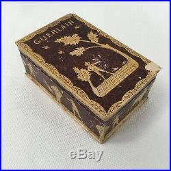VINTAGE GUERLAIN PARIS MITSOUKO PERFUME BACCARAT BOTTLE WITH BOX 2.5 fl oz