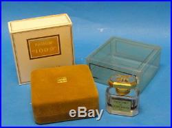 VINTAGE JEAN PATOU PARFUM 1000 BACCARAT BOTTLE 1.0 oz COMPLETE BOX & PACKAGING