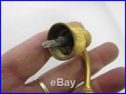 VINTAGE JEANNE LANVIN ARPEGE 2 3/4 OZ BLACK ROUND GLASS BOTTLE w ATOMIZER MIB