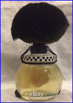 VTG Golli Wogg Black Americana Vigny France Perfume Bottle Factice