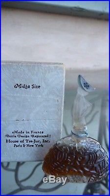 Vintage 1925 Suivec-Moi Figural Perfume Bottle House of Tre-Jour sealed in Box