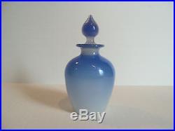 Vintage Alabaster Art Glass Cologne / Perfume Bottle, Stevens & Williams