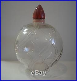 Vintage Antique Perfume Bottle Store Display HUGE & RARE Advertising