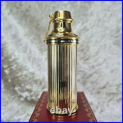 Vintage Authentic MUST DE CARTIER Perfume Bottle Refillable With Box