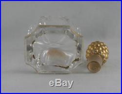 Vintage Baccarat Bottle For -que Sais Je Perfum- Rare Bottle