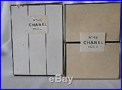 Vintage CHANEL No 46 1 oz Parfum / Perfume, with Dot, Sealed Bottle, Very RARE