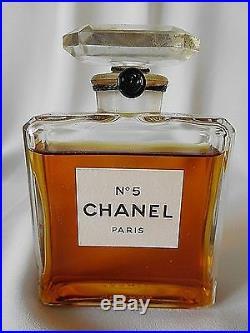 Vintage CHANEL No 5 MM 2 oz / 60 ml Extrait Parfum / Perfume Sealed Bottle