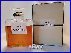 Vintage CHANEL No 5 with Dot, 1 oz Parfum / Perfume, Sealed Bottle