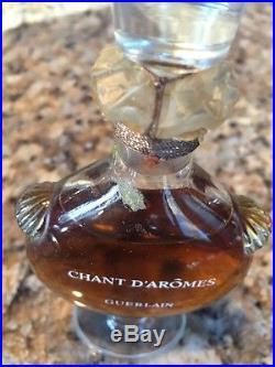 Vintage CHANT D'AROMES GUERLAIN Perfume / Parfum Bottle