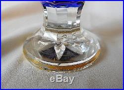 Vintage CHRISTIAN DIOR MISS DIOR Perfume, BLUE BACCARAT BOTTLE, 7