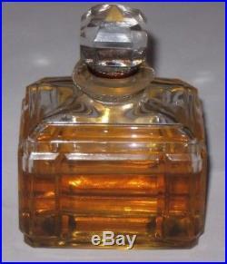 Vintage Caron Bellodgia Perfume Bottle/Boxes Baccarat 2 OZ Sealed 2/3+ Full 3