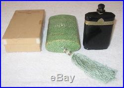 Vintage Caron Nuit de Noel Perfume Baccarat Bottle/Boxes 2 OZ Sealed 3/4+ Full