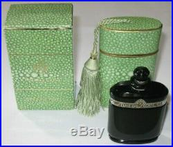 Vintage Caron Nuit de Noel Perfume Baccarat Style Bottle/Box 1 OZ Sealed/Full