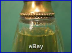 Vintage Christian Dior Diorissimo Baccarat Perfume Bottle Presentation