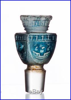 Vintage Commercial Perfume Bottle Baccarat City of Paris AH! PARIS Glass