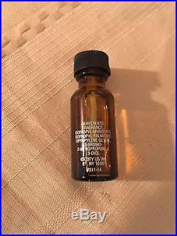 Vintage Coty Wild Musk Oil. 5 Fl Oz Amber Bottle Perfume Full