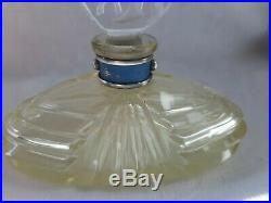 Vintage Czech Art Deco DIANA Hunting Goddess Perfume Bottle