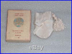 Vintage Estee Lauder White Linen Perfume Frosted Shell Flacon Parfum 7 ml