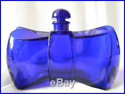 Vintage GUERLAIN COQUE D'OR BACCARAT Bottle, 4.2 oz Rare Flacon Noeud Papillon