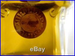 Vintage GUERLAIN MITSOUKO 2.77 Parfum / Perfume Baccarat Bottle, Sealed