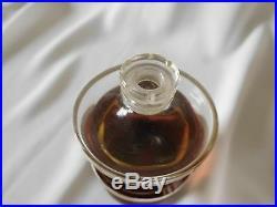 Vintage GUERLAIN SOUS LE VENT 2.7 OZ BACCARAT Bottle, 1937 Ltd Edition of 5000