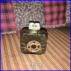 Vintage Guerlain Baccarat Perfume Bottle for Vol De Nuit, Empty