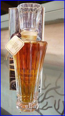Vintage Guerlain Belle Epoque Harrods Baccarat Perfume Bottle in Box