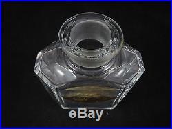 Vintage Guerlain Chant d'Aromes Baccarat Crystal Perfume Bottle Empty
