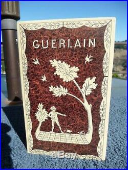 Vintage Guerlain L'Heure Bleue Perfume Bottle, 4 oz. Sealed in Box
