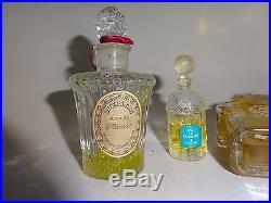 Vintage Guerlain Lot of Perfume bottles Vintage