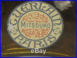 Vintage Guerlain Mitsouko Perfume Bottle/Box 1 OZ Sealed/Full Full Circa 1960's