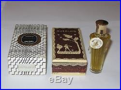 Vintage Guerlain Mitsouko Perfume Bottle & Boxes Sealed, 1/4 OZ 7.5 ML Full #3