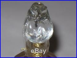 Vintage Guerlain Perfume Bottle Shalimar Rosebud/Amphora 1/2 OZ Sealed/Full 1967