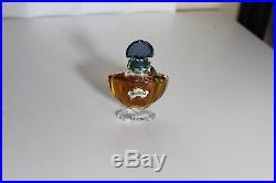 Vintage Guerlain Shalimar 1/3oz Perfume Bottle France Sealed Rare