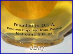Vintage Guerlain Shalimar Perfume Bottle & Box EDT 3 OZ Open 3/4+ Full