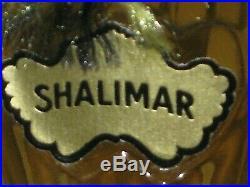 Vintage Guerlain Shalimar Perfume Bottle/Purple Box 1/2 OZ Sealed/Full 1983 #2