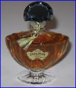 Vintage Guerlain Shalimar Perfume Bottle/Purple Box 1 OZ 30 ML Sealed/Full, #2