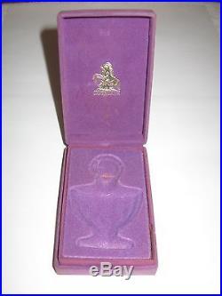 Vintage Guerlain Shalimar Perfume Bottle/Purple Box Unused 1/3 OZ Full #2