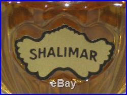 Vintage Guerlain Shalimar Perfume Bottle/Purple Boxes Unused 1/3 OZ Full