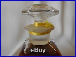 Vintage HOUBIGANT LE PARFUM IDEAL 2 oz Parfum / Perfume, Sealed Baccarat Bottle
