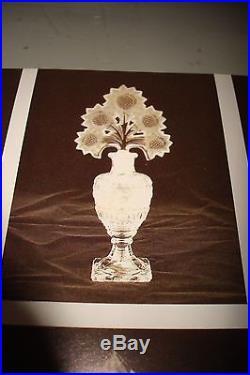 Vintage Imperial Sunflower Vanity Set2 Perfume Bottles & Powder Jar Book Piece