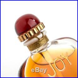 Vintage Jean Patou Joy Parfum Limited Edition Baccarat Perfume Bottle Sealed