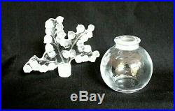 Vintage LALIQUE Crystal Clairefontaine Lily of the Valley Perfume Bottle