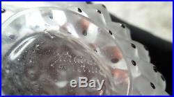 Vintage LALIQUE Crystal France CACTUS Art Deco Design Perfume Bottle