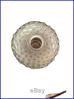Vintage LALIQUE Glass Cactus Perfume/cologne Bottle