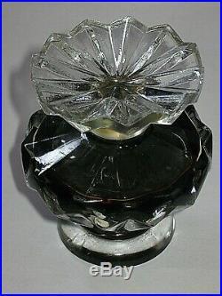 Vintage Lucien Lelong Tempest Perfume Bottle 1 OZ 1940s Open/Full 3 Ht