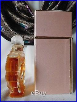 Vintage NINA RICCI COEUR JOIE Approx 3 1/2 Parfum / Perfume Sealed Bottle, Rare