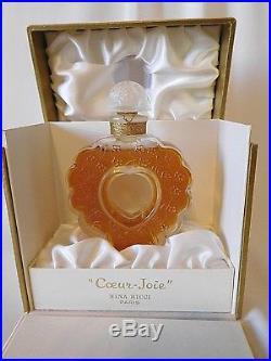 Vintage NINA RICCI COEUR JOIE Approx. 4. Parfum / Perfume Sealed Bottle, Rare